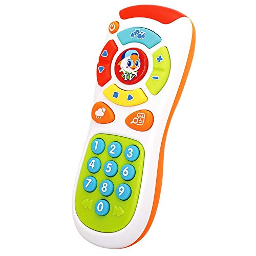 Baby Music Mobile Phone TV Remote Control Electric Numbers Learning Kids Toy
