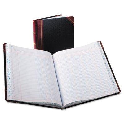 Columnar Book, 12 Column, Black Cover, 150 Pages, 10 3/8 x 8 1/8, Sold as 1 Each Columnar Book 150 Sheet Thread