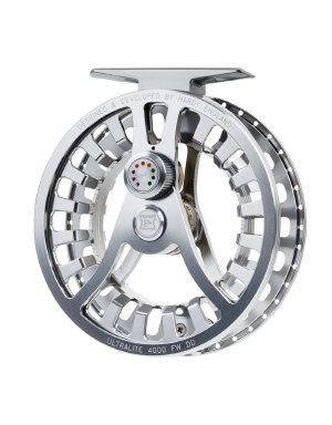 (Hardy Ultralite Fwdd Freshwater Fly Reel, Titanium/Green, 4000 (4/5/6))
