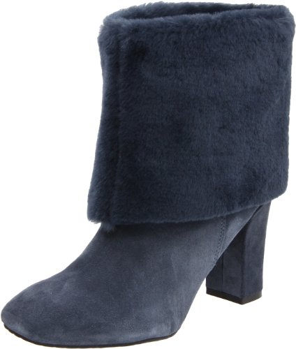 Bootie Helena Women's Sky Night Suede Cuffed Rockport qCf7t4