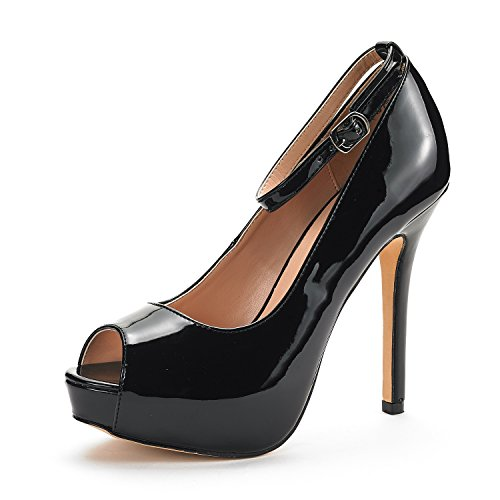 Patent Shoes High Heel - 3