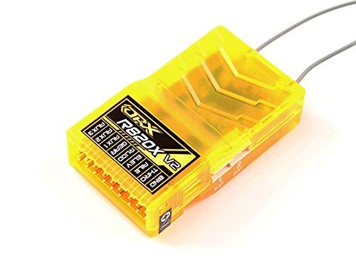 HobbyKing OrangeRx R820X V2 8Ch 2.4GHz DSM2/DSMX Comp Full Range Rx w/Sat, Div Ant, F/Safe & - Bindings Comp