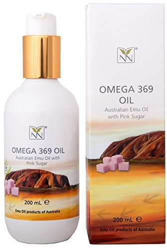 Extra Large, 100% Pure Australian Emu Oil w/Pink Sugar – 6.8 oz – Luxury, Hospital Grade Emu Oil – The Ultimate Home Spa Moisturizer for Skin, Hair, Nails, and Scalp Review