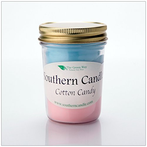 Cotton Candy - 8 oz Heritage Jar Natural Soy Wax Candle