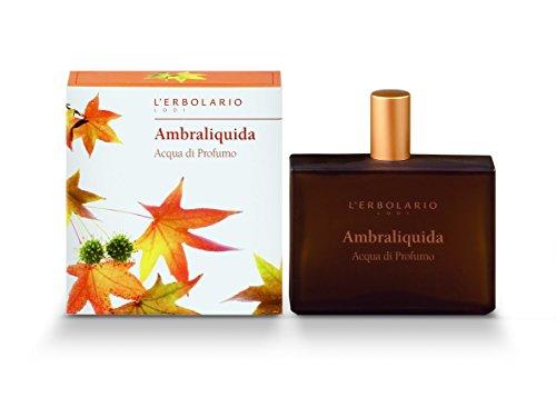 Ambraliquida Liquid Amber Acqua di Profumo Eau de Parfum by L Erbolario Lodi