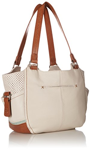 Handbag Sak The Satchel Perforated Kendra Canyon Stone xTqfztwq