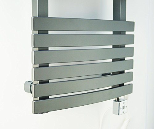 Electric Bathroom Towel Heaters: Electric Towel Warmer For Bathroom Wall Mount Heated Rail