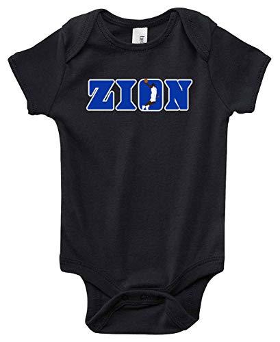 (Black Duke Zion Zion Logo Baby 1 Piece )