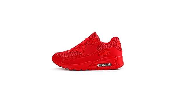 YAYADI Zapatos para Hombres Zapatillas Rojas Diseñador De Calzado Casual Luxury Instructores Slip-On Transpirable Zapatos Fitness Ligero para Correr: ...