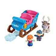 Disney Fisher-Price Frozen Kristoff's Sleigh by Little People