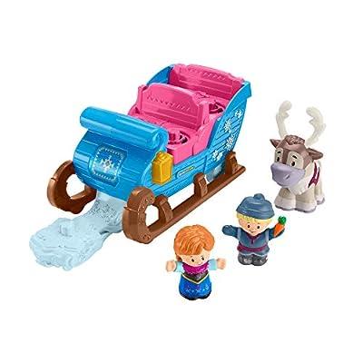 Disney Fisher-Price Frozen Kristoff's Sleigh by Little People