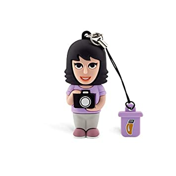 Professional USB fotógrafo Mujer, simpatiche Memorias USB ...