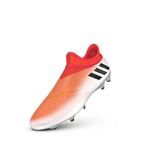 47229b3c9 adidas Messi 16+ Pureagility Fg White Black Red Soccer Shoes 8 ...