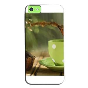 Fashion Design Protection For Iphone 5c Case Cover White 7obGCKb
