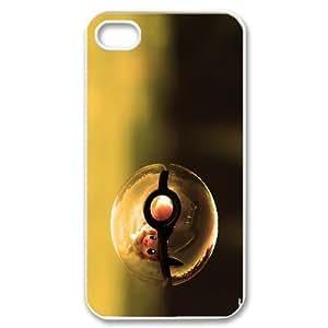 Pokeball Pokemon Pikachu Hard Snap phone case cover for Iphone 4,4S case TSL133701