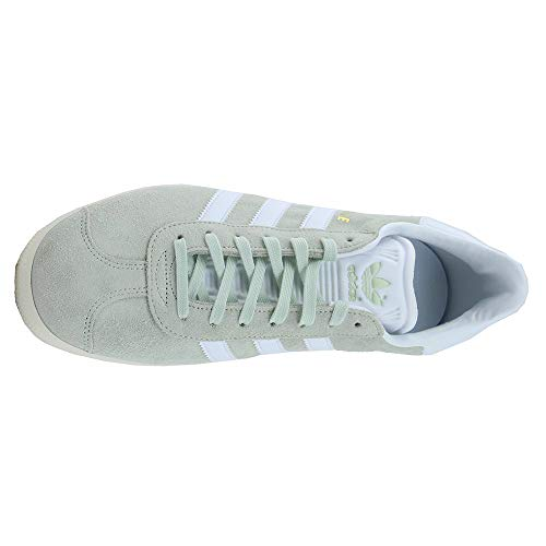 Trainers Suede Footwear Mens Green Adidas Linen Gazelle White wqxFExpt