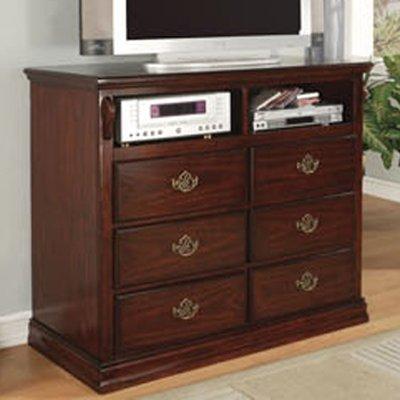 Media Chest in Dark Pine Finish by Furniture of America