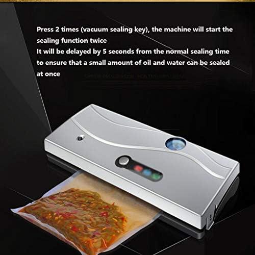 JHEY Étanchéité Foods Appareils de Mise sous Vide Compresseur Automatique Machine d'emballage, for Les Sacs en Plastique de Stockage des Aliments Snacks Fraîcheur