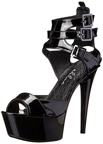 Ellie Shoes Women's 609-athena, Black, 9 M US