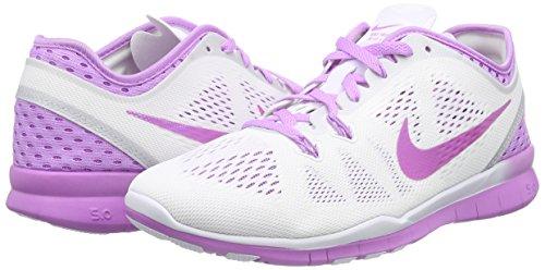 Nike Femmes Gratuit 5.0 Running Baskets Rouge Varsity /// Blanc