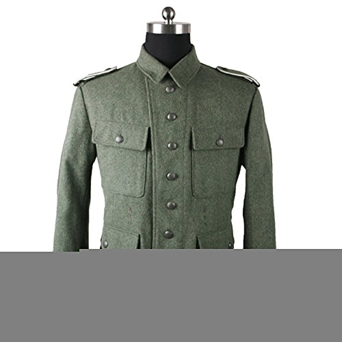 WH M43 Field-grey Wool Jacket, Enlisted Men-48R for sale  Delivered anywhere in USA