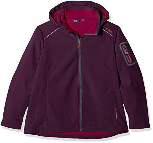 CMP - Chaqueta con capucha para mujer Purple/Berry