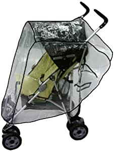 Sashas Rain and Wind Cover for Aprica Presto and Cadence Single Stroller
