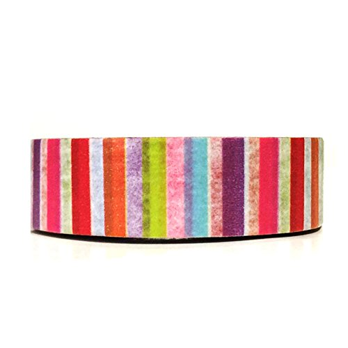 Wrapables Colorful Patterns Masking Rainbow