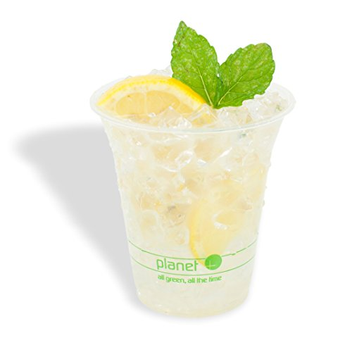 Planet + 100% Compostable PLA Clear Cold Cup, 12-Ounce, 1000-Count Case by Stalkmarket