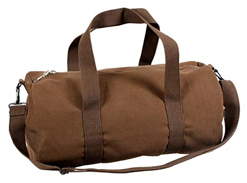 Rothco Canvas Vintage Shoulder Bag, Earth Brown, 19