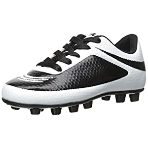 Vizari Infinity FG Soccer Cleat (Toddler/Little Kid/Big Kid), White/Black, 9.5 M US Toddler