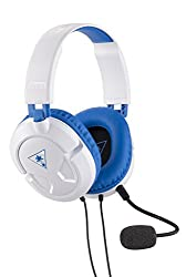 Turtle Beach Recon 60p White Amplified Stereo Gaming Headset | Ps4 & Xbox One
