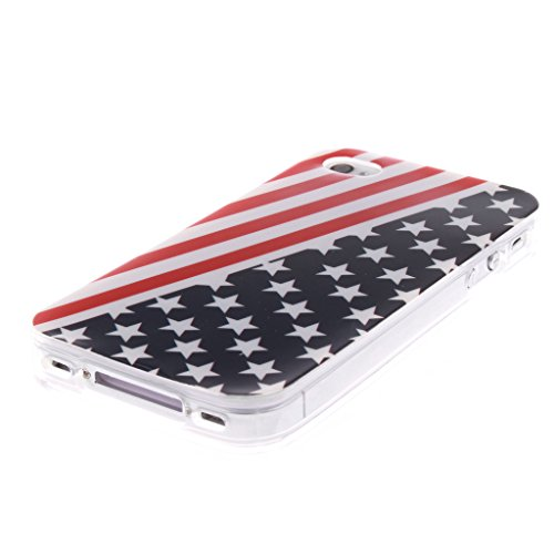 Iphone 4s coques Silicone TPU Gel ,Yaobai-Coque de protection en silicone TPU pour Apple Iphone 4 4s Etui case cover housse