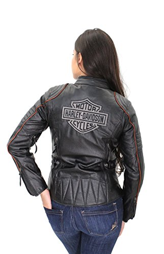 Womens Leather Riding Jackets - 7