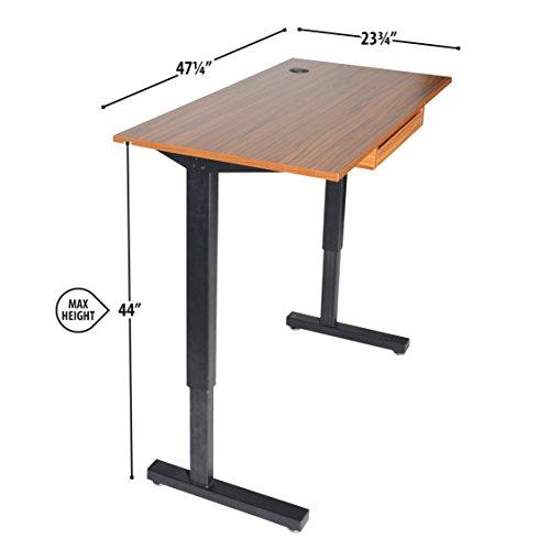 Standing Desk Hardware Average Height Of Office Desk