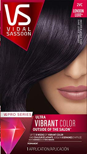 Vidal Sassoon Pro Series London Luxe Hair Color, Oxford Violet Onyx