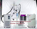 20L Rotary Evaporator Motor Lifting Turnkey Package w/Water Vacuum Pump &Chiller, RE-2020