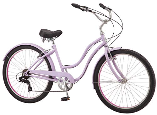 Schwinn Huron Men's Cruiser Bike Line, Featuring 17-Inch/Medium Steel Step-Over Frames, 1-3-7-Speed Drivetrains
