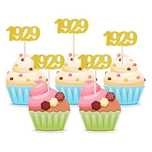 1929 Cupcake Toppers