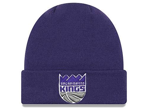 (New Era Sacramento Kings Purple Cuffed Breakaway Beanie Hat - NBA Cuff Knit Toque Cap)