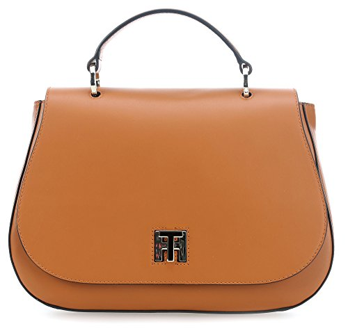 Tommy Hilfiger TH Twist Henkeltasche cognac