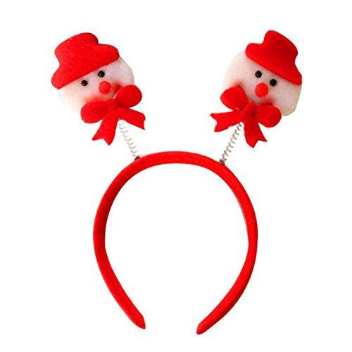 [Fedi Apparel Christmas Headband Decorations Santa Claus Fawn Head Buckle Christmas Party Headwear] (Fawn Costume Headband)