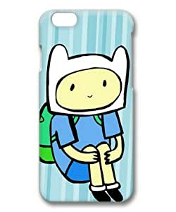 iphone 5c Case, Finn in Adventure Time Case for iphone 5c 3D Hard Plastic PC Material