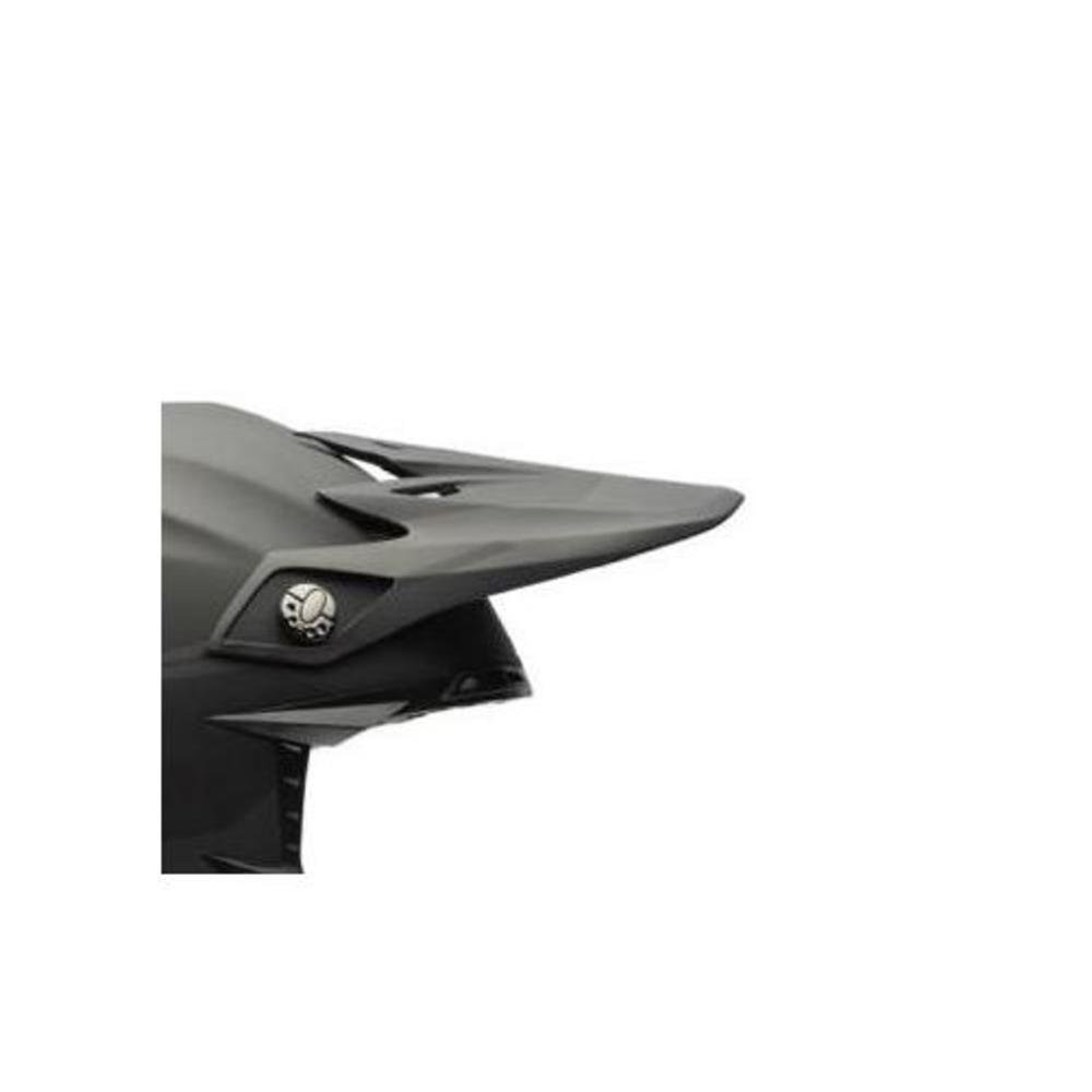 Bell Moto-9 Intake Visor Street Motorcycle Helmet Accessories - Matte Black/One Size by Bell