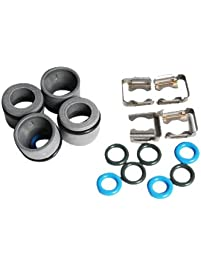 ACDelco 217-2257 GM Original Equipment Multi-Port Fuel Injector O-Ring Kit with Brackets and Insulators