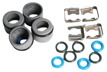 ACDelco 217-2257 GM Original Equipment Multi-Port Fuel Injector O-Ring Kit with Brackets and Insulators D21217-2257