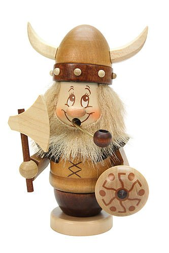 German Incense Smoker Gnome Viking - 14,5cm / 6 inch - Christian Ulbricht