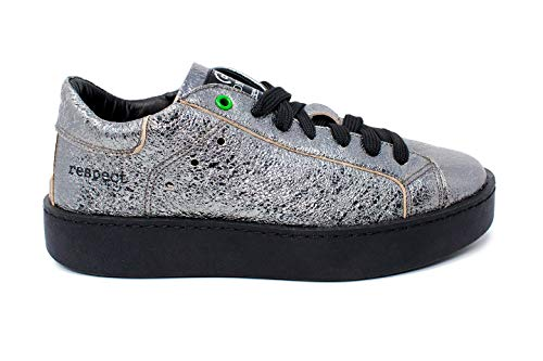 Argento Donna 2017 nero Sneaker Womsh Concept B7xqZnY