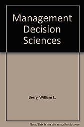 Management Decision Sciences