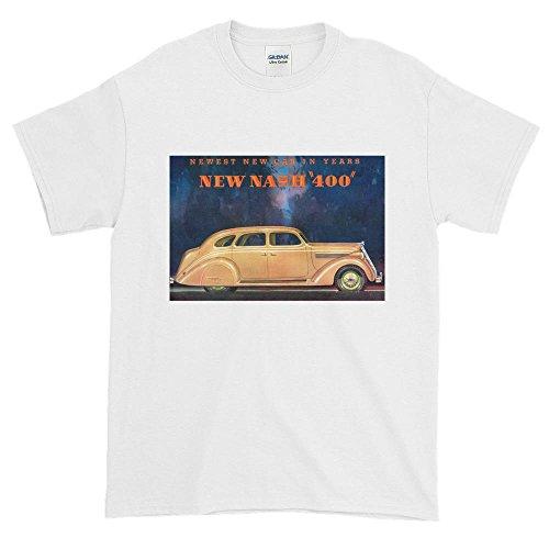 Vintage Ad Car (Nash 1930's Vintage Magazine Ad Short Sleeve Car T-Shirt)